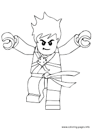 Kai Coloring Pages Coloring Pages 4 Lego Ninjago Kai Zx Coloring