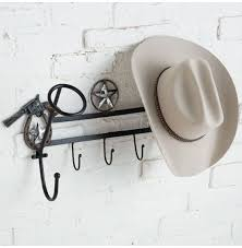 you re a pistol 2 hat rack with hooks