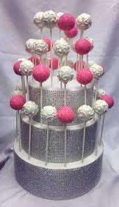 Cake Pop Display Stand Diy Extraordinary Bling Cake Pop Stand And Cake Pops Wwwcupcakeaffections Cake