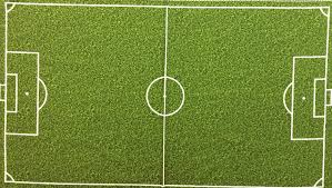 grass soccer field with goal.  Goal PNL104 Soccer Field Green Grass Turf Goals Sports Panel Cotton Fabric Quilt  RK47 On With Goal R