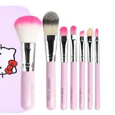 crazy deal promotion o kitty make up brush 7pcs set