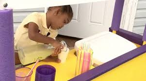 TeachEmYoung: Three-Year-Old Ava Lewis Sells Lemonade to Buy Diapers For  Moms in Need - Black Like Vanilla