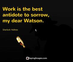 Sherlock Holmes Quotes Best 48 Best Sherlock Holmes Quotes SayingImages