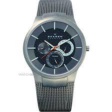"""men s skagen aktiv titanium watch 809xlttm watch shop comâ""""¢ mens skagen aktiv titanium watch 809xlttm"""