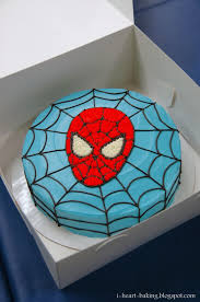 How To Make Red Icing For Spiderman Cake