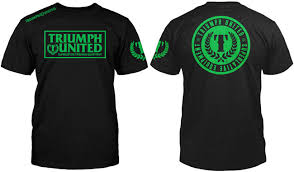 T-shirt Triumph United com Statement Fighterxfashion