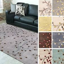 area rugs 8x11 hand tufted branch fl wool area rug x
