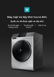 Máy Giặt Và Sấy Khô Yunmi 8KG