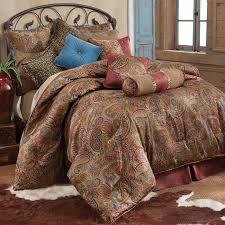 queen paisley comforter sets san angelo bedding set free 0