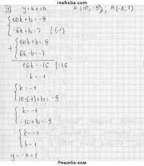 ГДЗ по алгебре для класса Л И Звавич контрольная работа К  ГДЗ решебник №2 по алгебре 7 класс дидактические материалы Л
