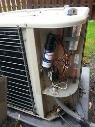 lennox ac compressor. new albany, oh - performance tune up on a lennox ac unit. compressor