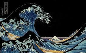 Japanese Wave Wallpaper Desktop Pictures