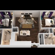 ... A 2 Bedroom Floor Plan | Luxury Apartments In Towson MD | The Southerly