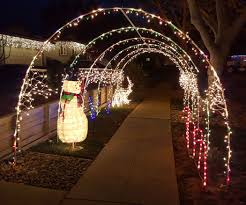 Outdoor Holiday Lights Holiday Light Tunnel Diy Christmas Light Decorations Diy