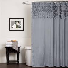 Lush Decor Lake Como Curtains Lush Decor Extra Long Shower Curtain