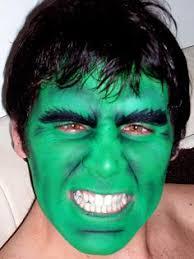 hulk face makeup photo 1