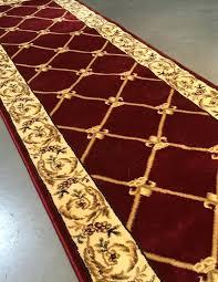 fleur de lis rug all roll quality french sign runner power loomed rug fleur de lis