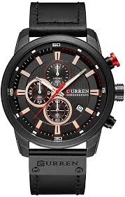 Curren <b>Men</b> Quartz Wrist <b>Watch</b> Analog Digital Leather <b>Casual</b> ...