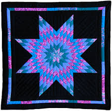 Amish Quilts and their pattern names   Lone Star Amish Inspired ... & Amish Quilts and their pattern names   Lone Star Amish Inspired Handmade Wall  Quilt (15 Adamdwight.com