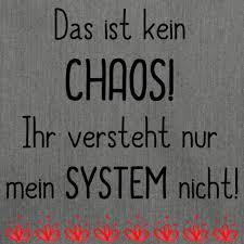 Shabbyflair Tasche Mit Spruch Chaos Mit System Schultertasche