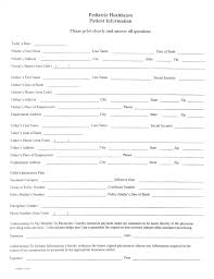 medical patient registration form care ohio county hospital patient registration form template