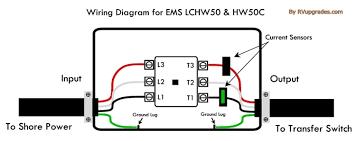 progressive industries ems hw50c hardwire 50 amp rv surge progressive industries ems hw50c hardwire 50 amp rv surge protector w remote display