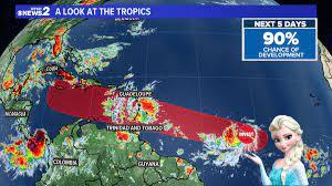 Tropical Storm #Elsa ...