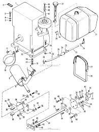 Simplicity 990756 landlord 3410s tractor parts diagram for engine