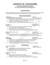volunteer examples on resume examples of resumes peace corps uva career center