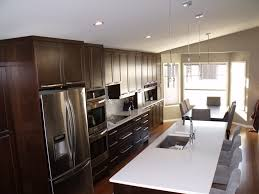 Delightful One Wall Kitchen With Island Floor Plans Single Layout - One wall kitchen designs