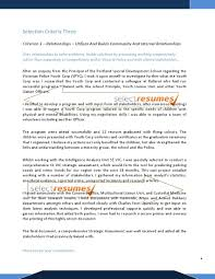Psychology Resume Examples Resume For Study. Selection Criteria Writers   ...