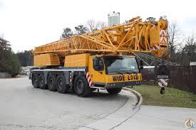 2010 Liebherr Ltm1160 5 1 All Terrain Crane Crane For Sale