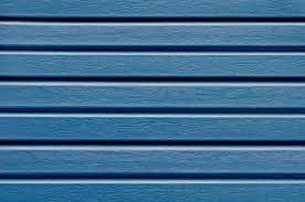 vinyl siding blue