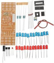 BouBou <b>3Pcs Diy</b> Two-Color Led Flashlight <b>Electronic Kit</b>: Amazon ...