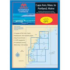 Maptech Waterproof Charts Maine Maptech Waterproof Chartbooks Of New England Kittery