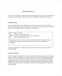 business reports examples 17 business report examples pdf word