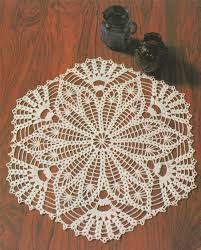 Doily Crochet Pattern Pdf With Chart Doily Mat Placemat