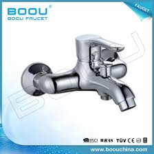 boou s wall mounted brass bathtub faucet with single handle b8223 3