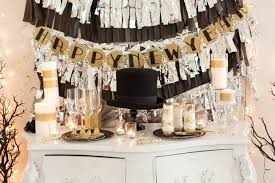 ... Beautiful Diy New Years Party Decorations Ideas For Foyer Table Fringed  Garland Nye ...