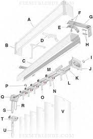 vertical blind diagram identify your part wood faux wood venetian blind parts