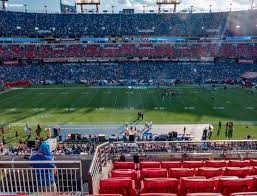 Titans Seating Chart With Rows Nissan Stadium Section 212 Seat Views Seatgeek