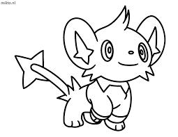 Kleurplaat Pokemon