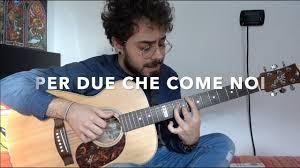 Per due che come noi - Brunori Sas (Cover) Guna Chords ...
