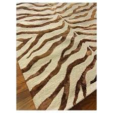 wool zebra rug luxurious brown and white zebra rug from wool radiant zebra area rug tar
