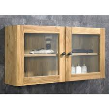 glass door wall cabinet pertaining to pre assembled solid oak with a twist inspirations 3