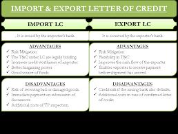 Letter Of Credit Process Flow Chart Ppt Import And Export Letter Of Credit Efinancemanagement Com