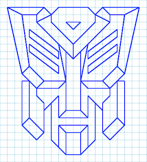 transformers autobot graph paper logo by lordofnintendo on deviantart