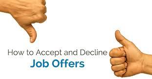 Decline An Offer How To Accept Or Decline Job Offer 23 Best Tips Wisestep