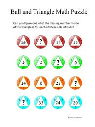 Printable Math Puzzles