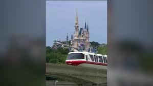 wide open doors. Watch: Disney World Monorail Transports Guests With Broken Doors Wide Open